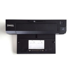Dock Euro Advanced E Port II 130W Dell Docking station model 100218-555, alimentator 130W inclus